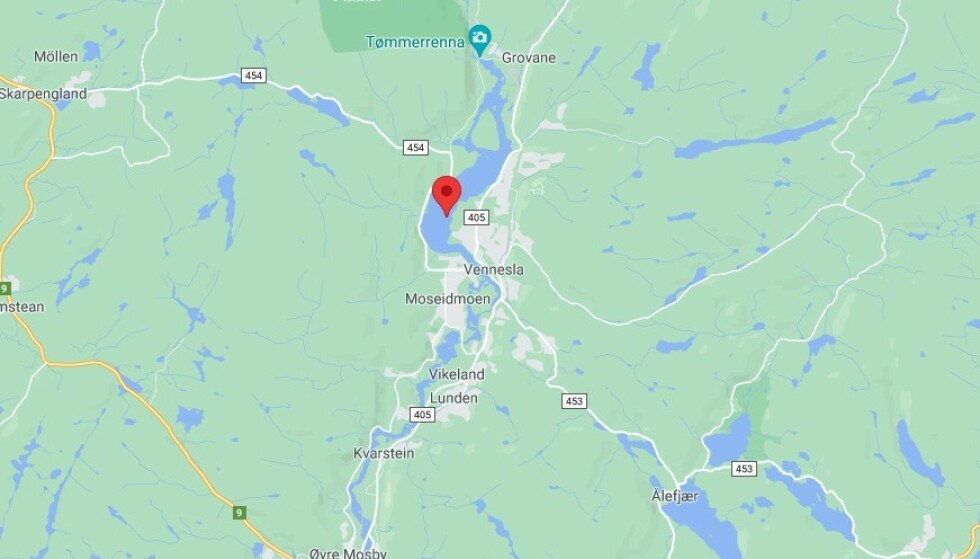 Venneslafjorden er en innsjø i Vennesla kommune i Agder