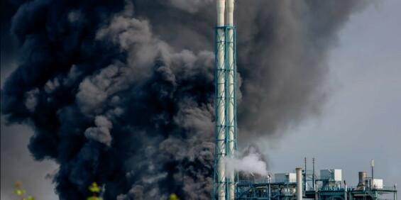 Image: Eksplosjon i kjemisk anlegg i Tyskland