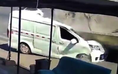 Image: Sterke bilder: Vanvittig ulykke overrasker