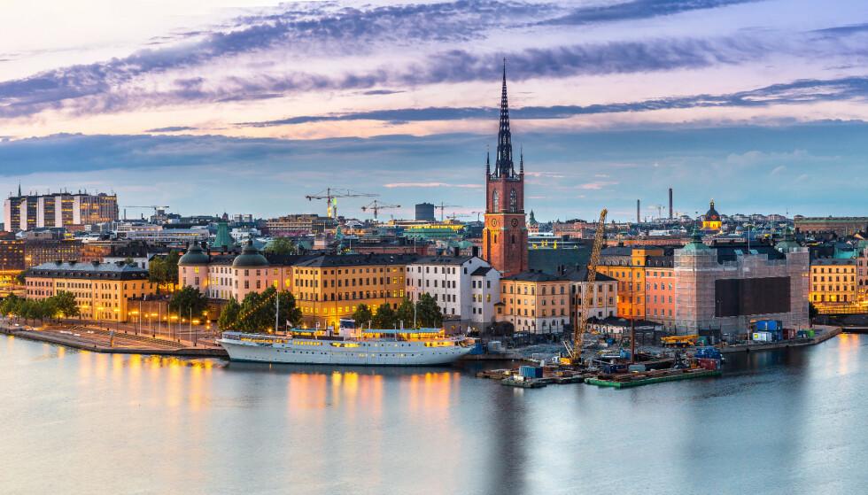 Stockholm, Sverige. Foto: NTB.