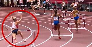 Image: Sportsnyhetene: Opplever marerittet - stuper inn i hekken