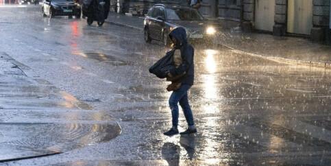 Image: Våt og kjølig uke: Alle taper