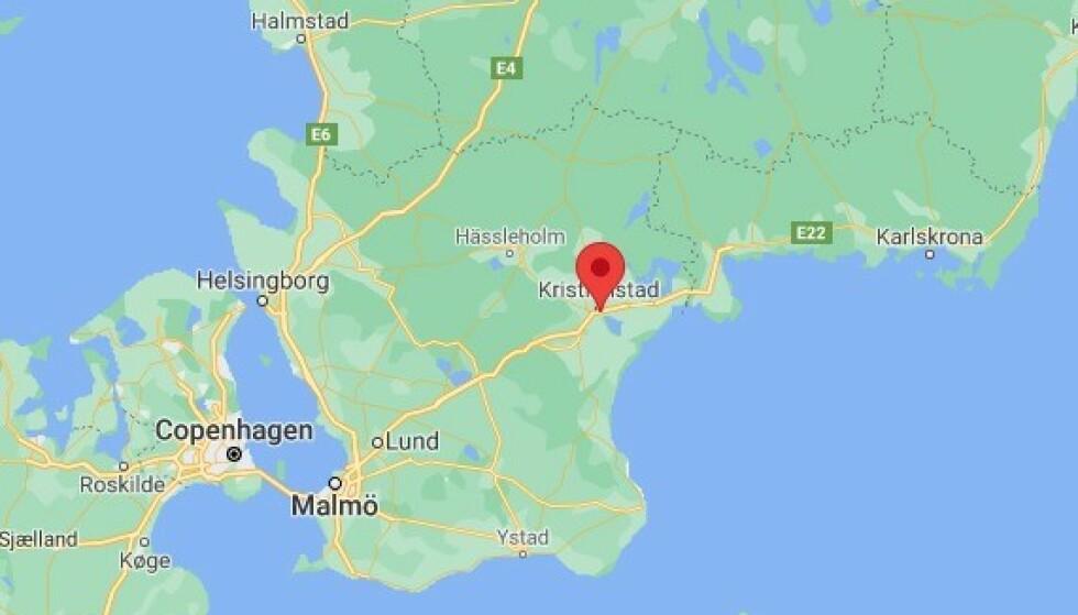 Tre personer funnet skutt i Kristianstad