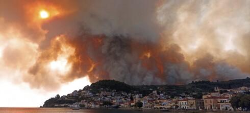 Hellas kjemper mot «marerittbrann» utenfor Aten