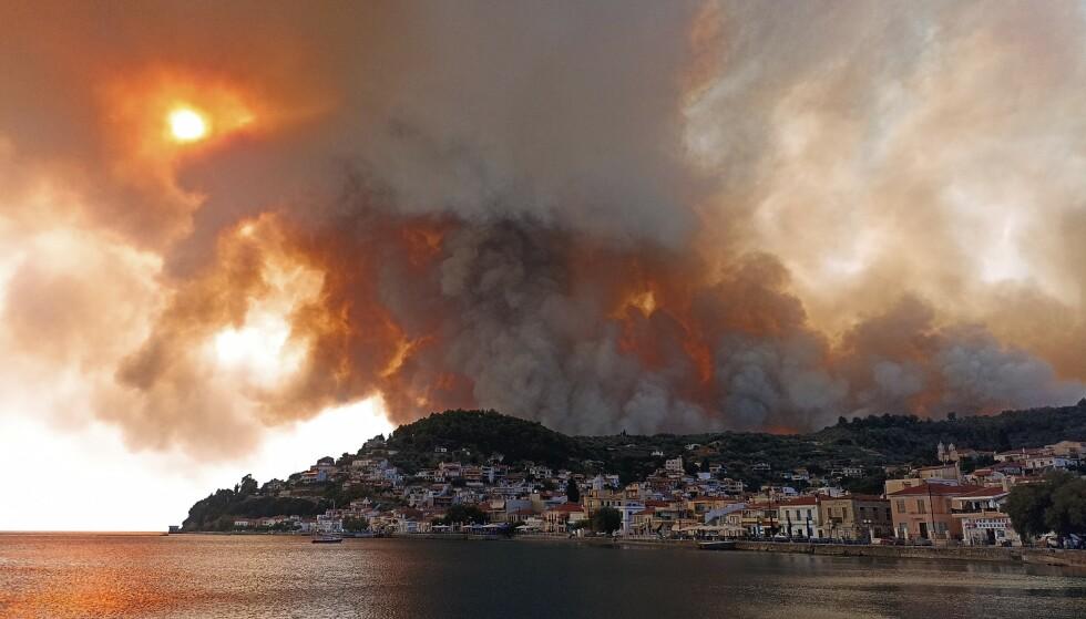 Flere steder er blitt evakuert, men det er så langt ikke meldt om skadde eller omkomne.