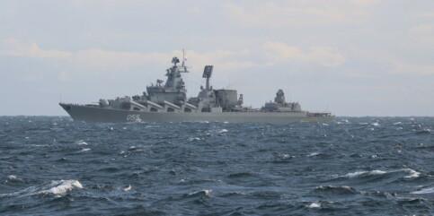 Image: Her er russiske krigsskip langs norskekysten: - Viktig å følge med
