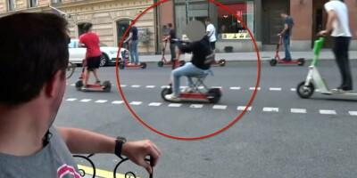 Image: Ny trend: Stjeler stoler for å gjøre dette