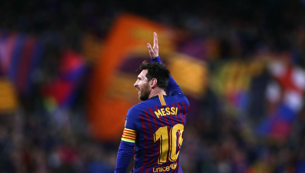 Lionel Messi ser ut til å være på vei til PSG etter 21 år i Barcelona. Foto: Manu Fernandez/AP/NTB