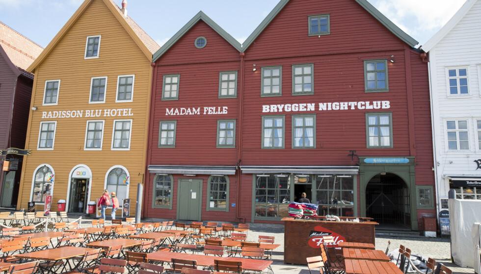 Bryggen i Bergen. Foto: Terje Pedersen / NTB