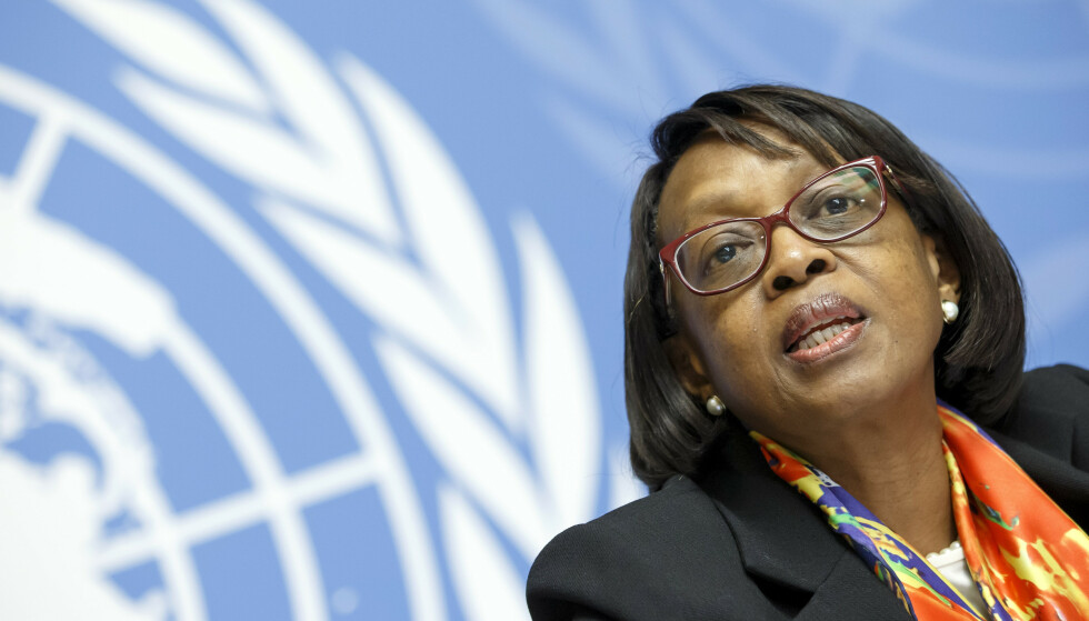 Matshidiso Moeti, WHOs regionaldirektør for Afrika. (Foto: AP/NTB)