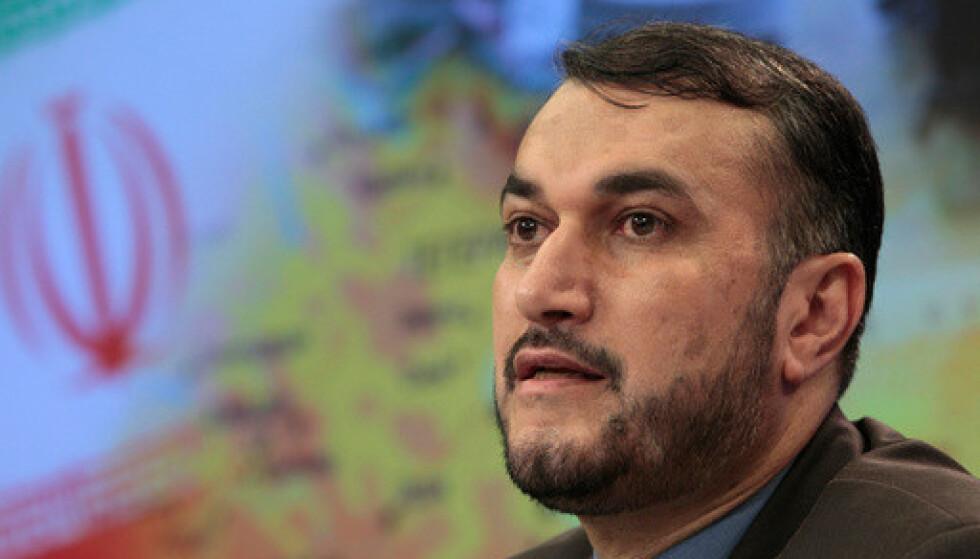 Irans president Ebrahim Raisi har utnevnt 57 år gamle Hossein Amir-Abdollahian til ny utenriksminister. Foto: AP / NTB.