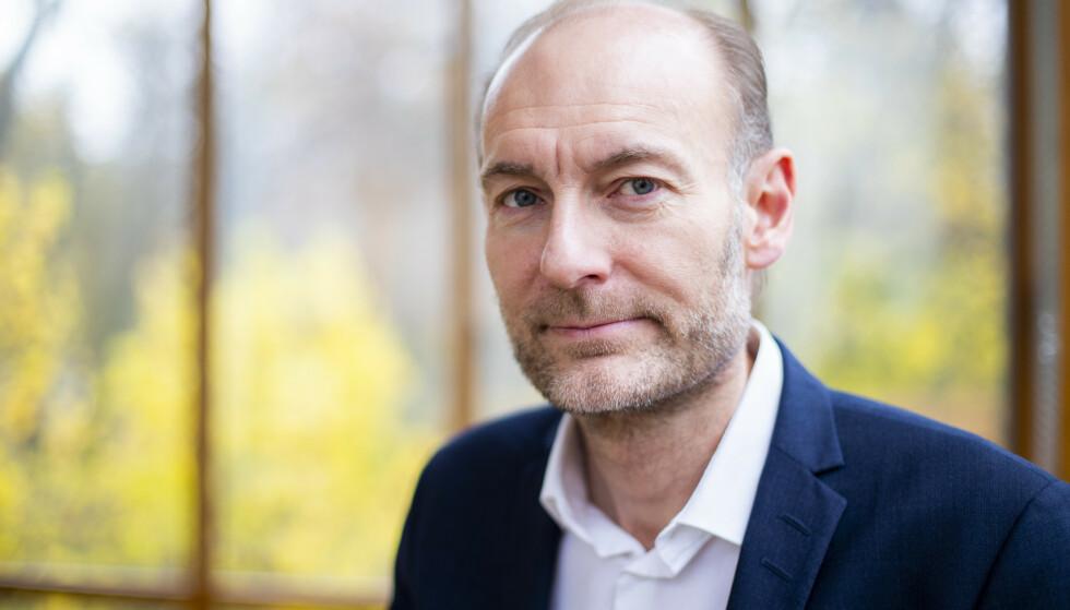 Fritt Ord-direktør Knut Olav Åmås er jurymedlem for NTBs språkpris.Foto: Håkon Mosvold Larsen / NTB.
