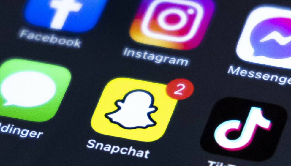 Slettmeg.no har i sommer fått flere henvendelser fra Snapchat-brukere som har fått sin kontoen kapret og blitt utsatt for utpressingsforsøk. Foto: Beate Oma Dahle / NTB