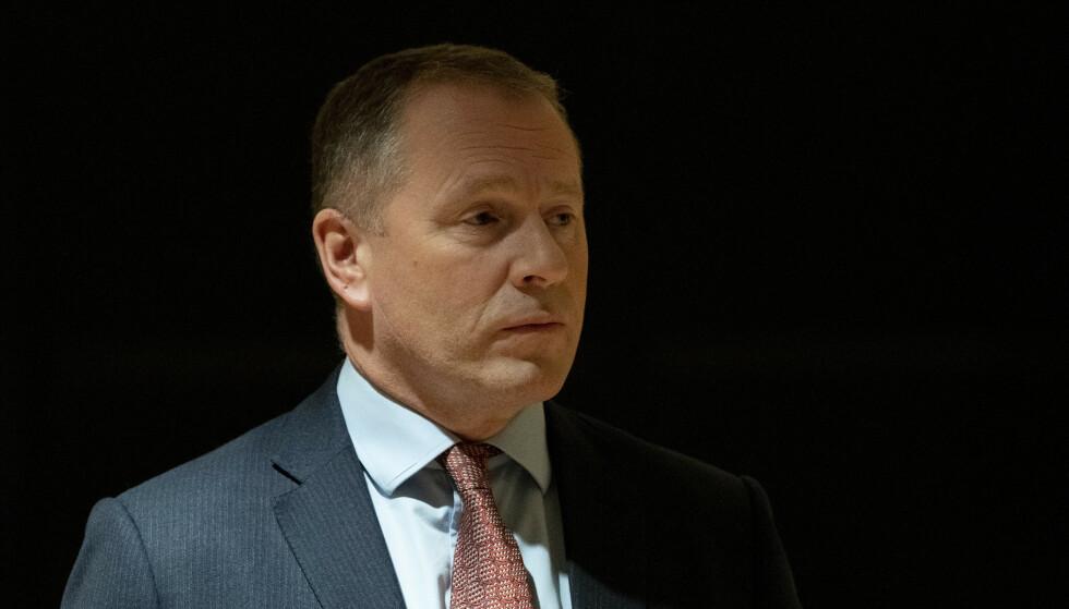 Leder Nicolai Tangen i Norges Bank Investment Management. Foto: Torstein Bøe / NTB