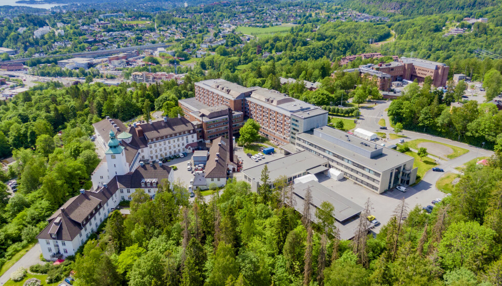 Bærum sykehus Vestre Viken Helseforetak og Martina Hansens Hospital. Foto: Stian Lysberg Solum / NTB scanpix