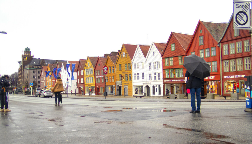 Bergen forlenger coronatiltakene en ekstra uke. Foto: Gorm Kallestad / NTB