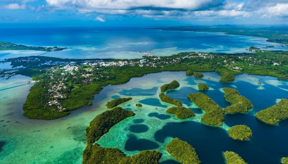 Øynasjonen Palau har fått sitt første coronatilfelle. Foto: Shutterstock / NTB scanpix