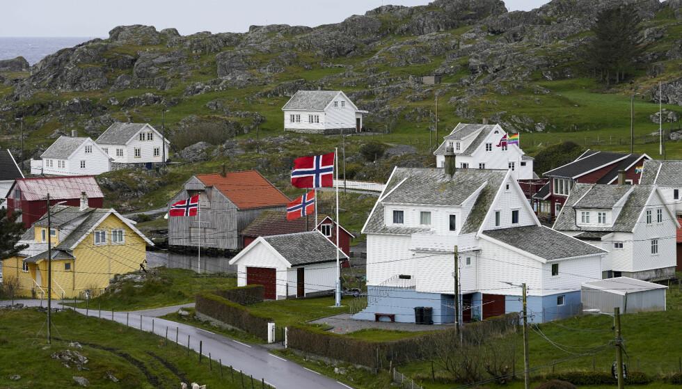 Utsira, som er Norges minste kommune, er en av fem kommuner i landet det ikke er påvist coronasmitte. Foto: Jan Kåre Ness / NTB