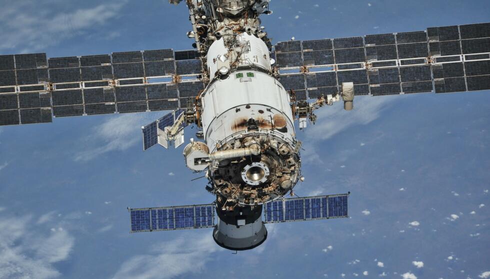 ISS fotografert i 2018. (Foto: Reuters/NTB)