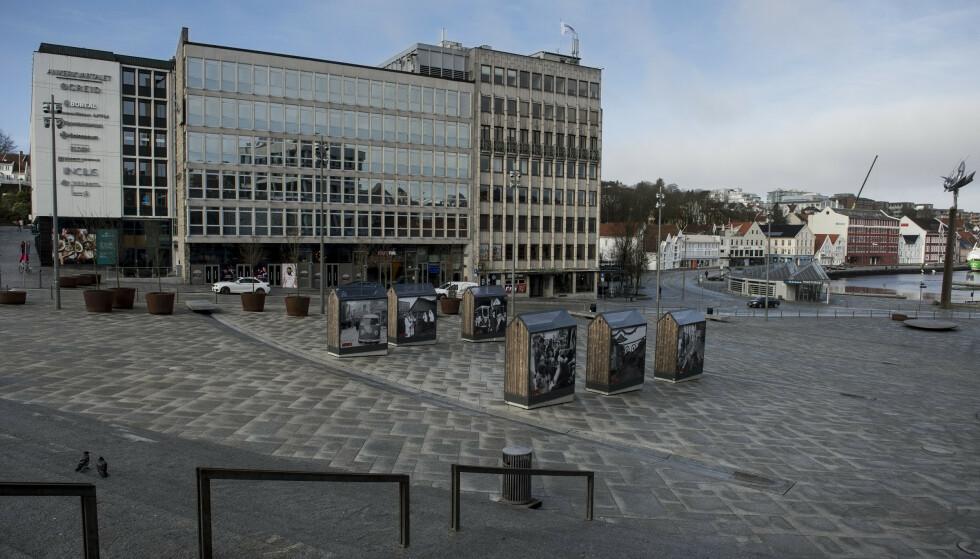 Det blir munnbindpåbud på kollektivtrafikken i Stavanger. Foto: Carina Johansen / NTB