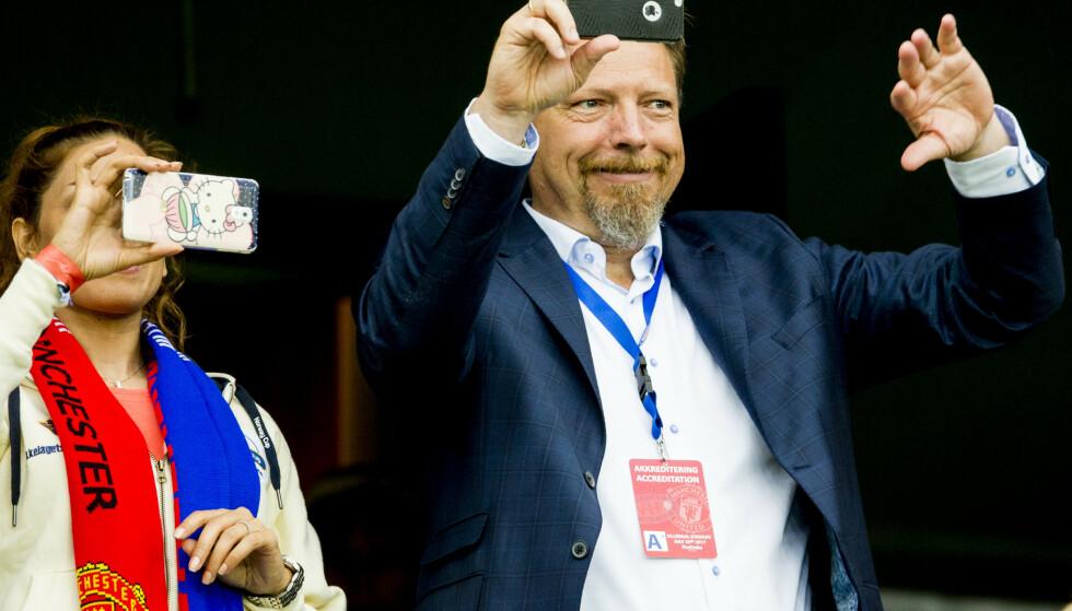 Erik Espeseth, daglig leder i Vålerenga Fotball, er sykmeldt etter en badeulykke. Foto: Vegard Wivestad Grøtt / NTB