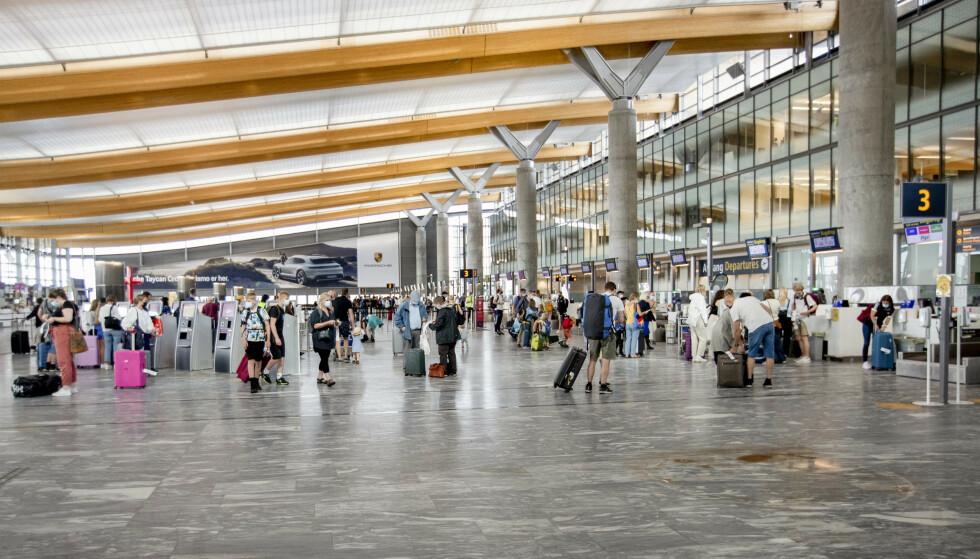 Oslo Lufthavn. Foto: Hanna Johre / NTB