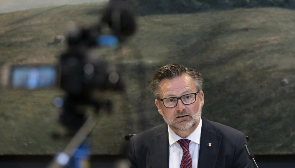 Ordfører Jarle Nilsen i Karmøy. Foto: Jan Kåre Ness / NTB