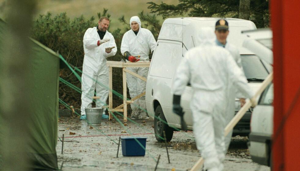 20 år gamle Tina Jørgensen ble funnet drept i en kom ved Bore kirke på Klepp sør for Stavanger i 2000. Arkivfoto: Alf Ove Hansen / NTB