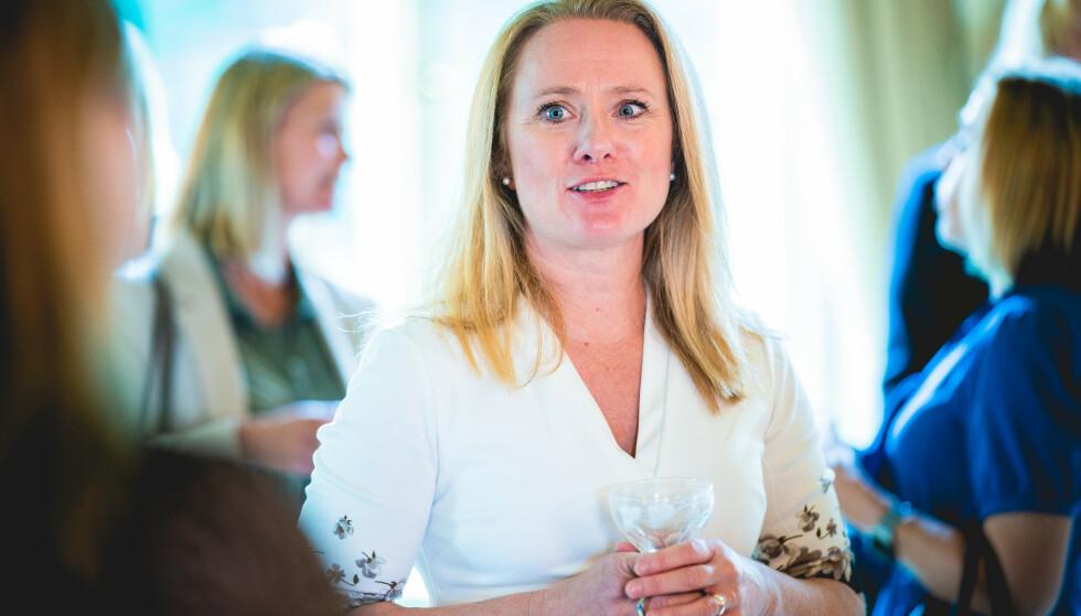 Anniken Hauglie er administrerende direktør i Norsk olje og gass. Foto: Stian Lysberg Solum / NTB