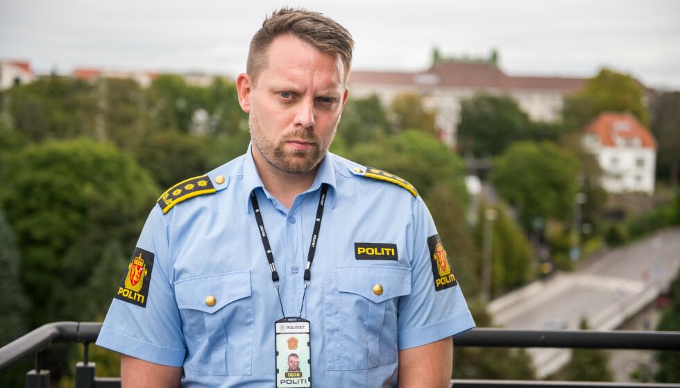 Politiet har fått flere tips fra politiet etter pågripelsen av en mann som er siktet for drapet på Birgitte Tengs og mistenkt og drapet på Tina Jørgensen, opplyser politiinspektør Lars Ole Berge. Foto: Carina Johansen / NTB
