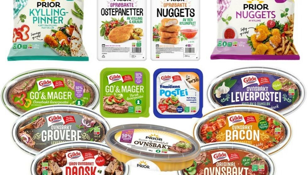 Nortura trekker tilbake flere varer på grunn av kreftfremkallende stoff. Foto: Nortura