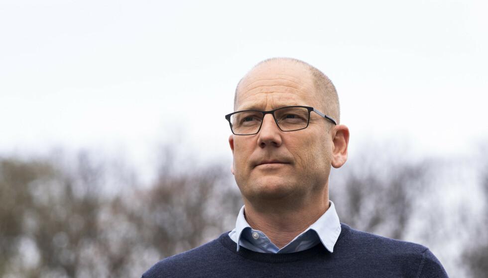 Utdanningsforbundets leder Steffen Handal bruker sterke ord om situasjonen i skolene. Foto: Terje Pedersen / NTB