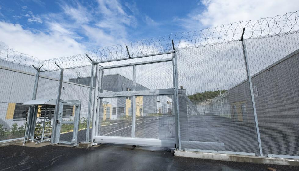 En innsatt i Mandal fengsel ble lørdag funnet død. Foto: Tor Erik Schrøder / NTB