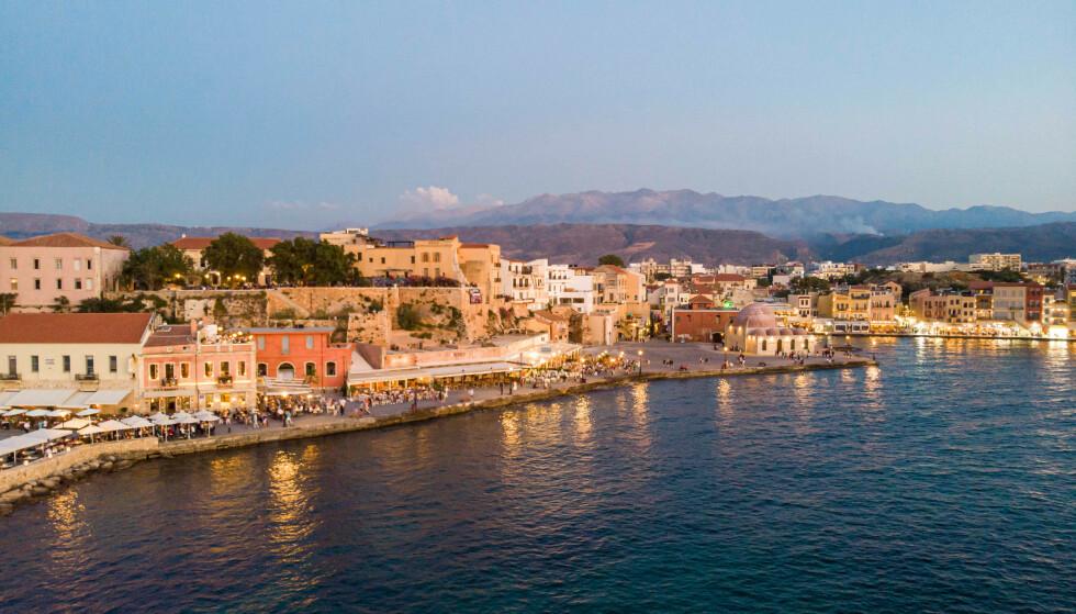 Chania på Kreta. (Foto: Shutterstock/NTB)