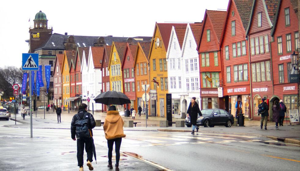 Bergen går over til nasjonale tiltak. Foto: Gorm Kallestad / NTB