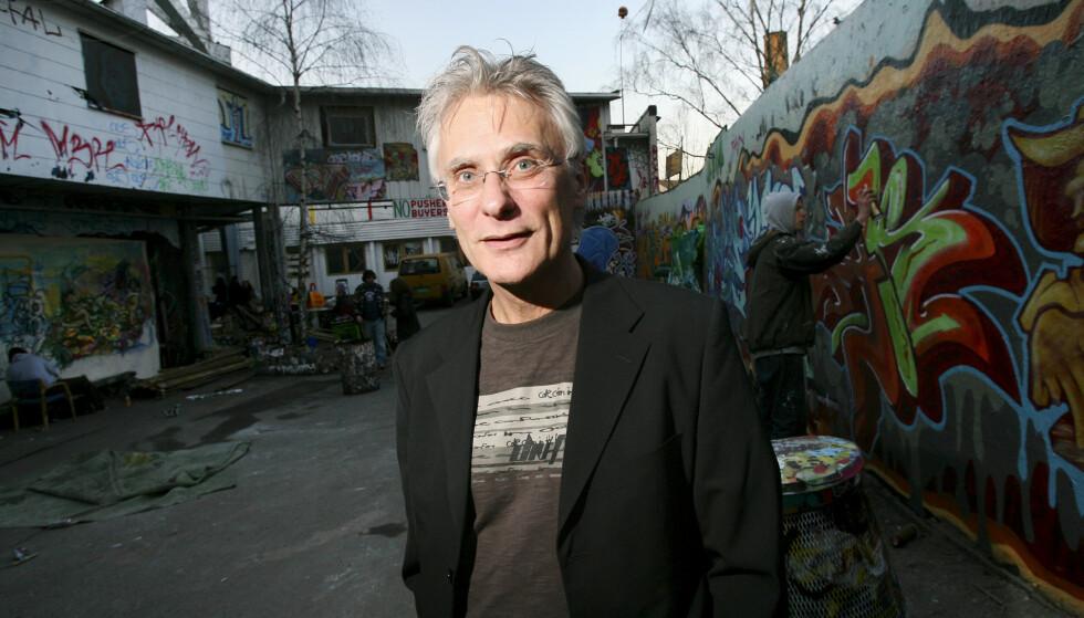 Petter Vennerød, som utgjorde halvparten av den legendariske regissørduoen Wam og Vennerød, i forbindelse med at flere av duoens filmer ble lansert på DVD i 2007. Foto: Håkon Mosvold Larsen / NTB.