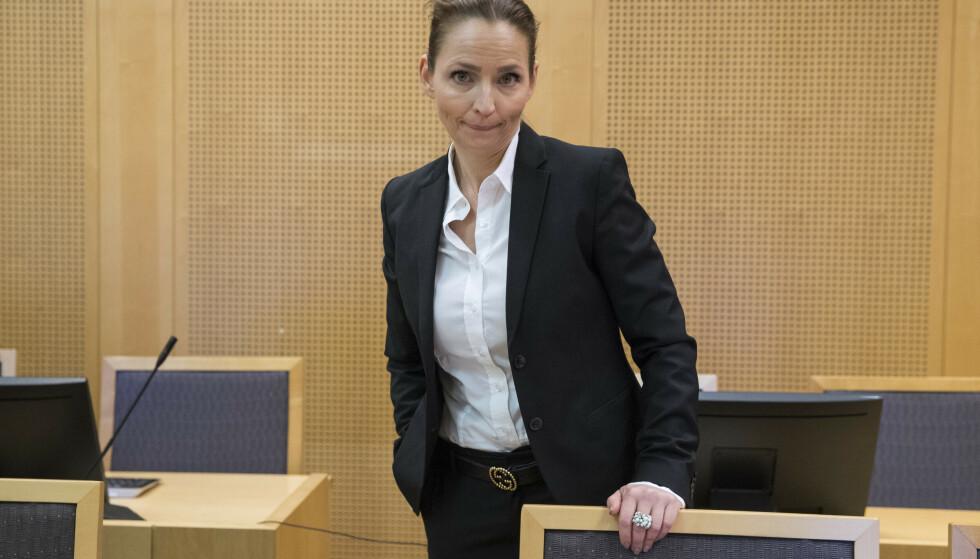 Førstestatsadvokat Marianne Bender fikk lagmannsrettens medhold i at 50-åringen som er skyldig i utroskap for over 9 millioner kroner må dømmes strengere. Foto: Håkon Mosvold Larsen / NTB