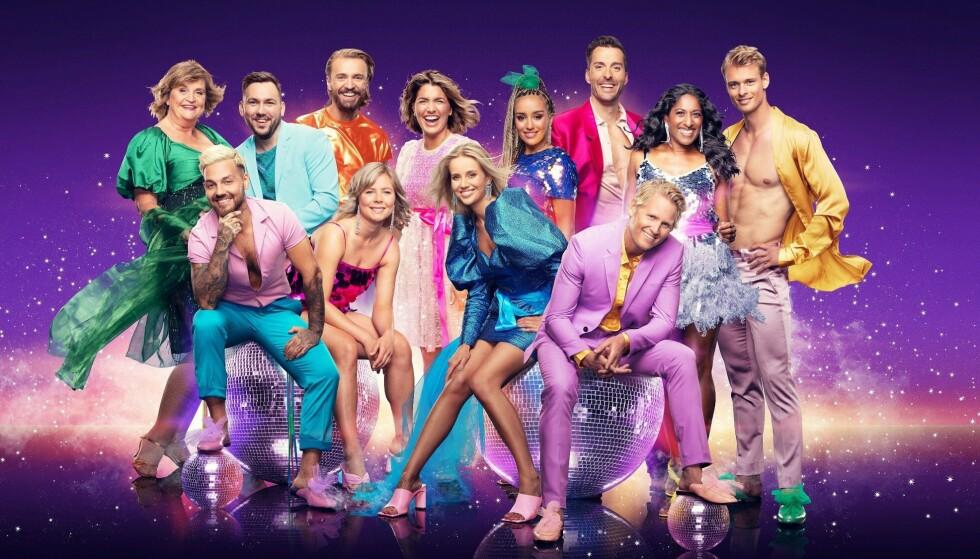 «Skal vi danse» finner man på Tv 2 Play. Foto: Fredrik Arff (TV 2)