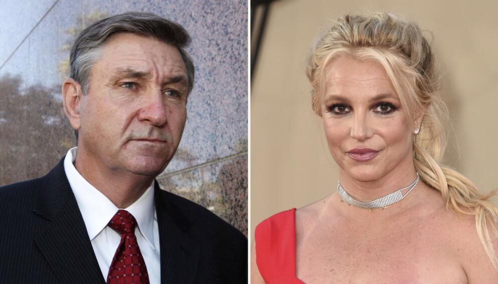 Jamie Spears har gått med på å trekke seg som verge for datteren Britney Spears. Det er imidlertid uklart når en ny verge skal ta over. (AP Photo)