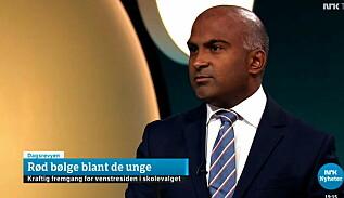 Image: NRK legger seg flat etter valgtabbe