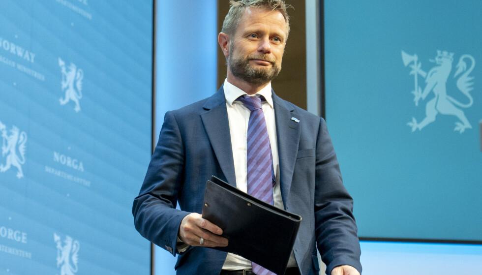 Helseminister Bent Høie. (Foto: Torstein Bøe / NTB)