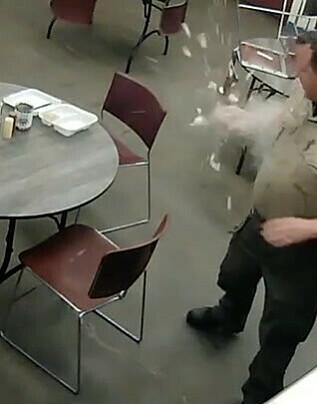Image: Politiet deler morsom video fra pauserommet