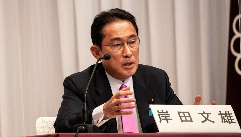 Fumio Kishida blir Japans nye statsminister. Foto: Philip Fong/Pool via REUTERS/NTB Scanpix