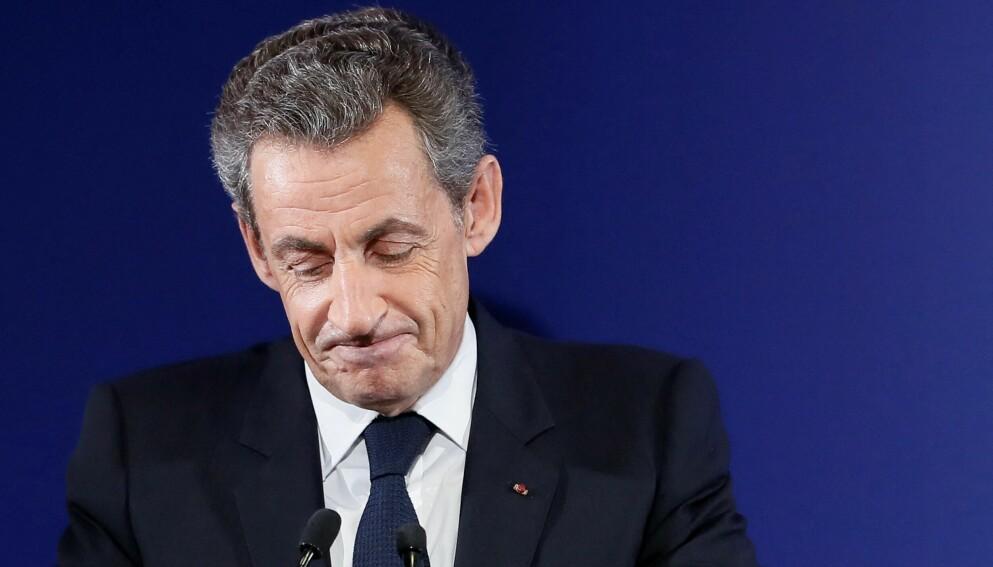Frankrikes tidligere president, Nicolas Sarkozy. Foto: IAN LANGSDON/POOL/AFP/NTB