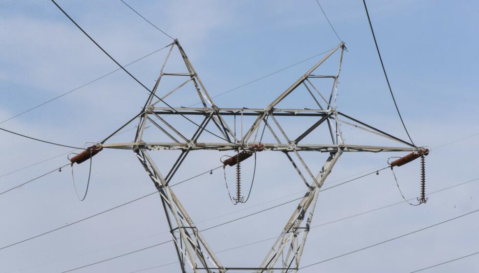 I sin nettutviklingsplan anslår Statnett at strømforbruket vil øke med 80 TWh fram mot 2050. Foto: Terje Pedersen/NTB