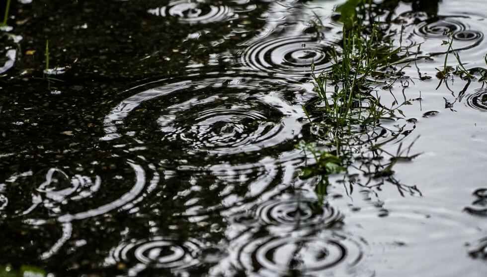 Det er ventet mye regn i Oslo og Viken de neste dagene. Det kan gi flom enkelte steder. Foto: Lise Åserud/NTB