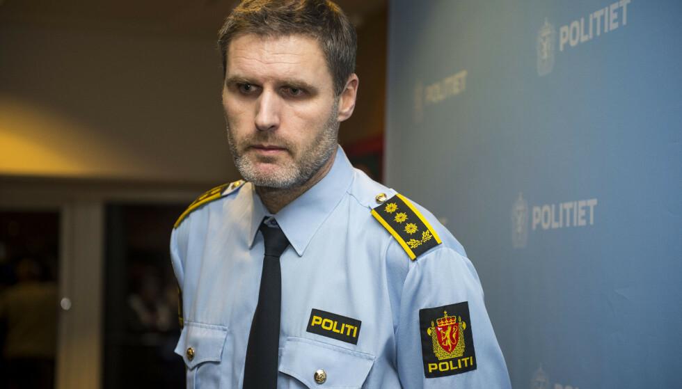 Politiadvokat Fredrik Martin Soma fikk medhold i begjæringen om fortsatt varetektsfengsling av mannen som er siktet for Tengs-drapet. Foto: Carina Johansen/NTB