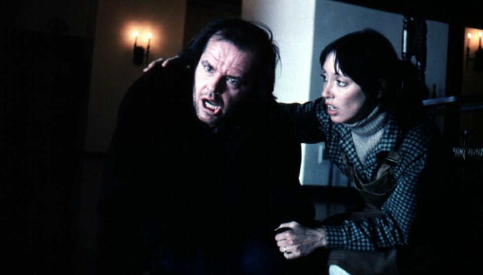 """""""The Shining"""" på norsk """"Ondskapens Hotell"""" med Jack Nicholsonog Shelley Duvall kom først ut i 1980. FOTO: Moviestore/REX via NTB"""