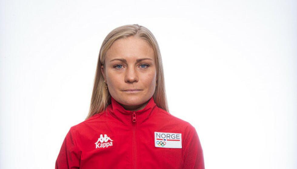 Emilie Moberg var til stede på Norges idrettsforbunds Team Tokyo 2020 samling på Ullevaal stadion, for idrettsutøvere og -ledere som er aktuelle for olympiske leker og paralympiske leker. Foto: Heiko Junge / NTB.