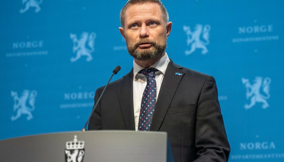 Helse- og omsorgsminister Bent Høie. Foto: Ali Zare / NTB